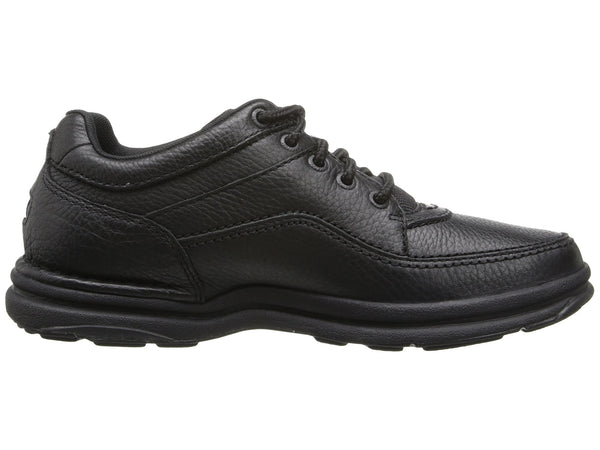 Rockport World Tour Classic Walking Shoe-Black Tumbled - Bennett's Clothing - 4