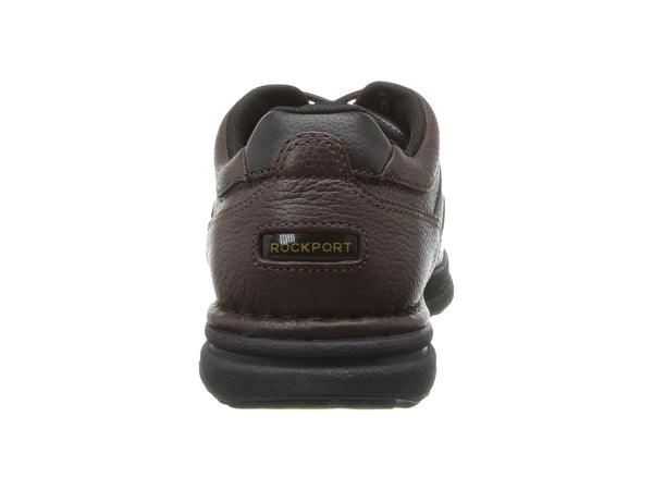 Rockport World Tour Classic Walking Shoe-Brown Tumbled - Bennett's Clothing - 3
