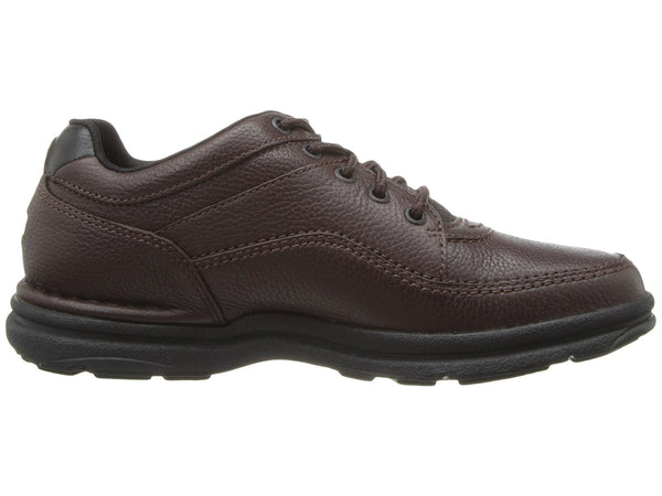 Rockport World Tour Classic Walking Shoe-Brown Tumbled - Bennett's Clothing - 4