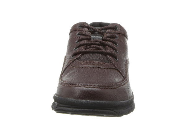 Rockport World Tour Classic Walking Shoe-Brown Tumbled - Bennett's Clothing - 5