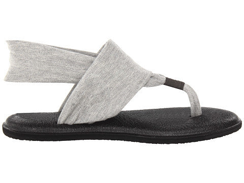 Sanuk Womens Yoga Sling 2 Sandal-Grey - Bennett's Clothing - 4