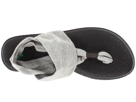 Sanuk Womens Yoga Sling 2 Sandal-Grey - Bennett's Clothing - 6