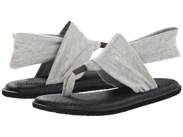 Sanuk Womens Yoga Sling 2 Sandal-Grey - Bennett's Clothing - 1