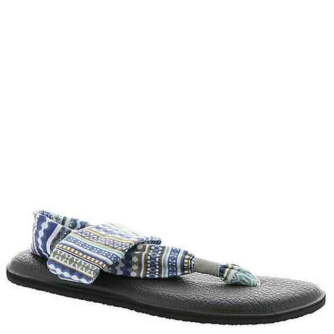 Sanuk Women's Yoga Sling 2 Prints Sandals-Lead Grey Multi