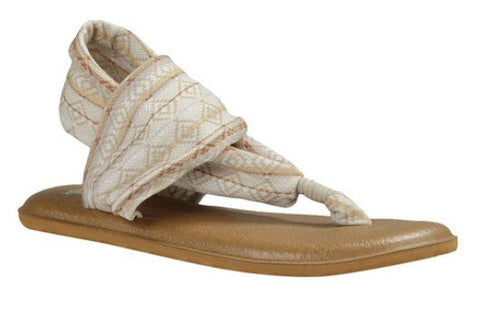 Sanuk Women's Yoga Sling 2 Prints Sandals-Natural Multi Tribal