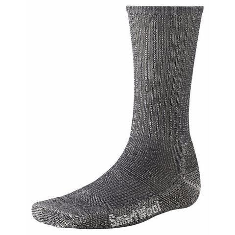 Smartwool Men's Hike Medium Crew Socks-Grey-Large - Bennett's Clothing - 1