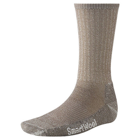 Smartwool Mens Hike Light Crew Socks-Taupe-Large - Bennett's Clothing - 1