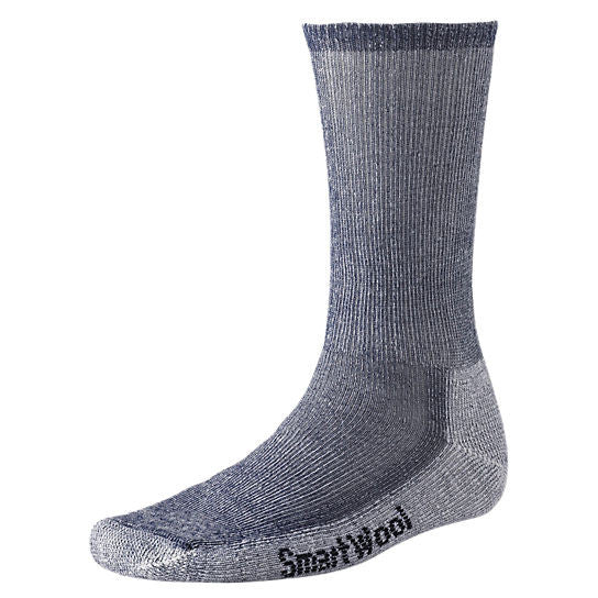 Smartwool Men's Hike Medium Crew Socks-Navy-Large - Bennett's Clothing - 1