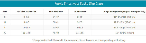 Smartwool Men's Hike Medium Crew Socks-Sage-Large - Bennett's Clothing - 2