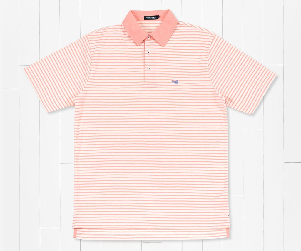 Southern Marsh Albany Flats Performance Polo  can be dressed up or down to match your active lifestyle. Shop Bennetts Clothing where you find the best brands and same day shipping.
