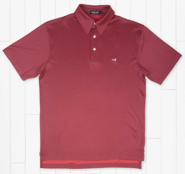 Southern Marsh Eagle Heather Performance Polo-Strawberry Fizz