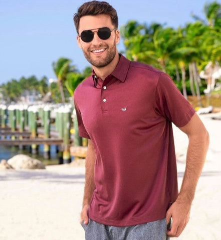 Southern Marsh Eagle Heathered Performance Polo  will fit right in with your active lifestyle. Shop Bennetts Clothing where you find the best brands and same day shipping.
