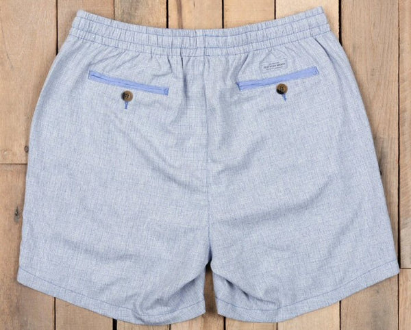 "Southern Marsh 6"" Crawford Casual Short-Light Blue"