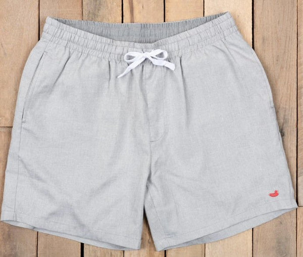 "Southern Marsh 6"" Crawford Casual Short-Light Gray"