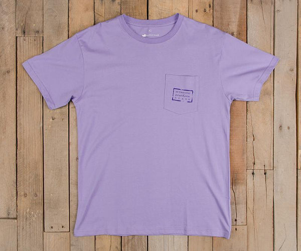 Southern Marsh Authentic Short Sleeve T-Shirt-Lilac