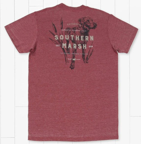 Southern Marsh Dog seawash t-shirt with a crew neck looks and feels great whether hanging pubside or poolside. Shop Bennetts Clothing where you find the best brands and same day shipping.