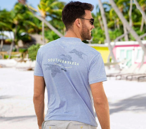 Southern Marsh Three Ducks seawash tee is so soft and looks great when walking the beach or hanging pubside. Shop Bennetts Clothing where you find the best brands and same day shipping.