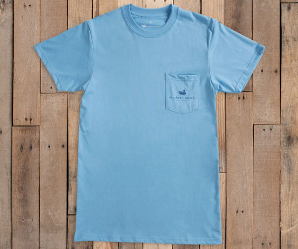 Southern Marsh Blue Ridge Southern Horizons T-Shirt-Breaker Blue