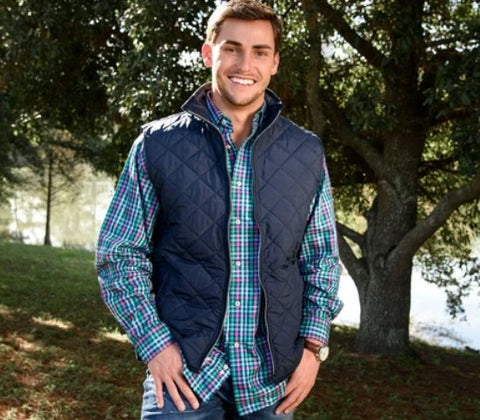 Southern Marsh Marshall Quilted Vest will fit right in with your active lifestyle. Shop Bennetts Clothing where you find the best brands and same day shipping.