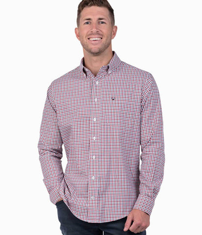 Southern Shirt Campus Check sport shirt will keep you ready for whatever the week or weekend holds. Shop Bennett's for the latest in mens clothing from the brands you want shipped same day to your front door.