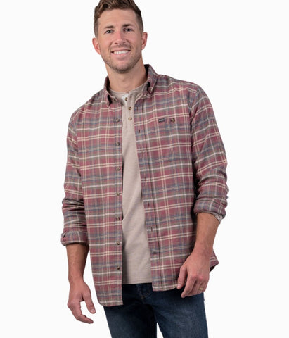 Southern Shirt Company Collins Flannel shirts makes rugged styling comfortable. Shop Bennett's for the latest in mens clothing from the brands you want and where the customer is #1.