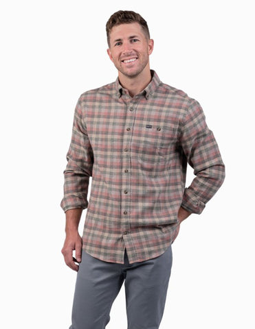 Southern Shirt Yellowstone Heather Flannel shirt has western flare with Southern charm. Shop Bennetts Clothing for the best styles of clothing from the brands you want.