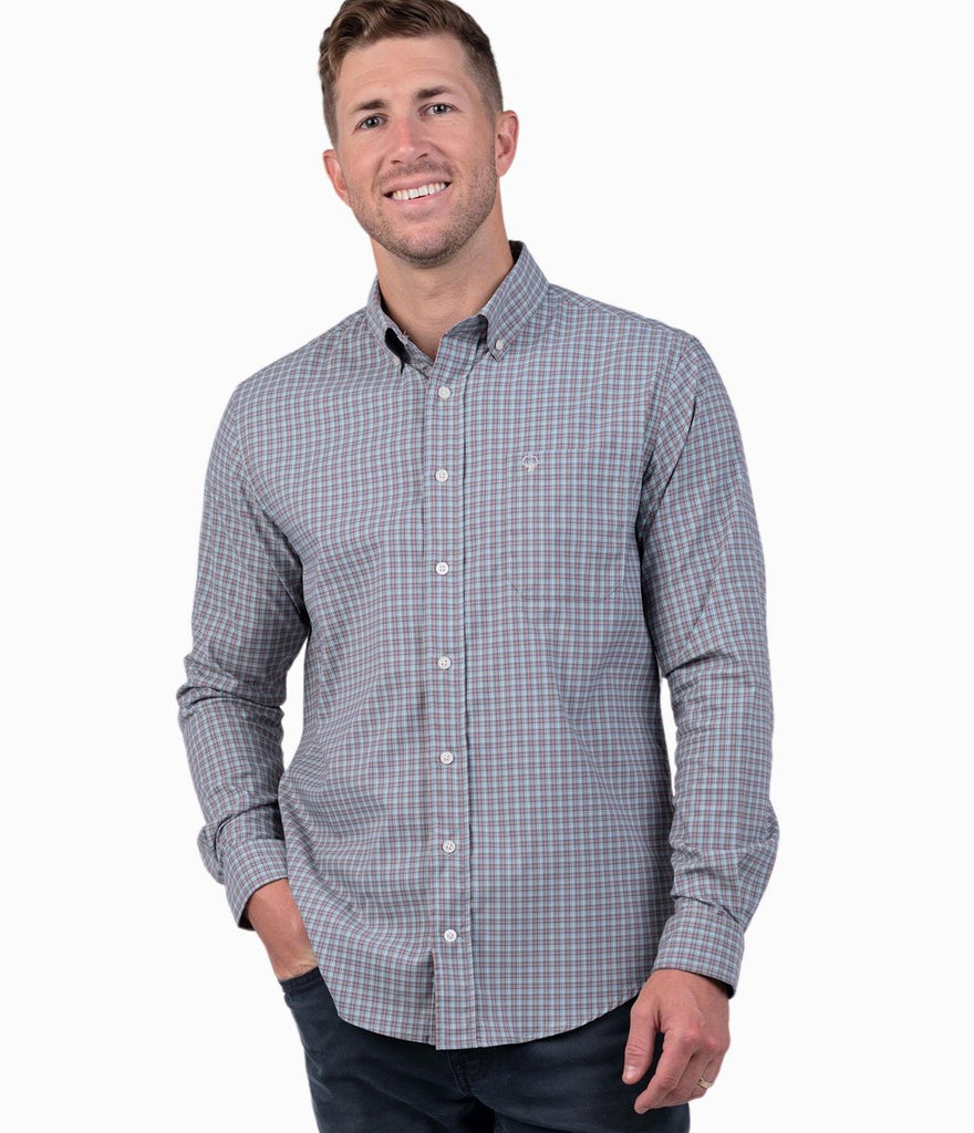 Southern Shirt Lawrence Check sport shirt will keep you ready for whatever the week or weekend holds. Shop Bennett's for the latest in mens clothing from the brands you want shipped same day to your front door.