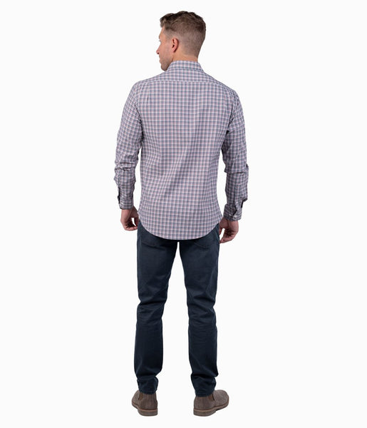 Southern Shirt Tanner Plaid Button Down-Colonial Blue