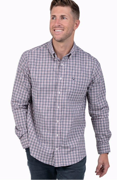 Southern Shirt Tanner Plaid sport shirt will keep you ready for whatever the week or weekend holds. Shop Bennett's for the latest in mens clothing from the brands you want shipped same day to your front door.