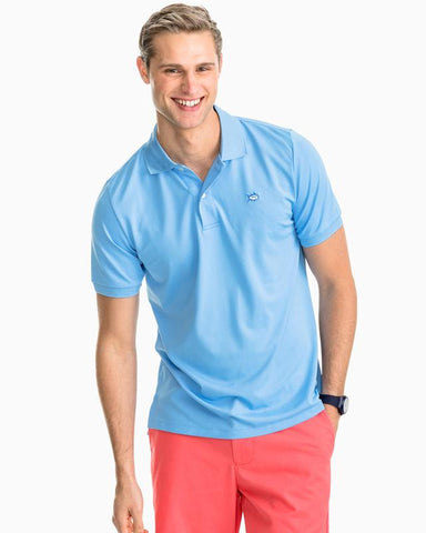 Southern Tide Jack Performance Polo has spot on styling and made for the active lifestyle. Shop Bennetts Clothing for a large selection of name brand menswear
