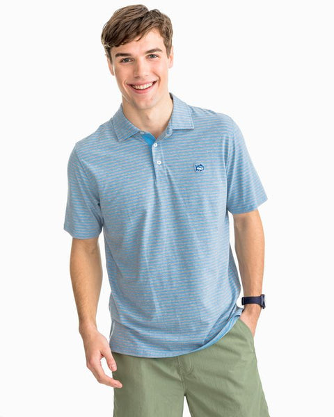 Southern Tide Channel Marker stretch Polo has spot on styling. Shop Bennetts Clothing for a large selection of name brand menswear