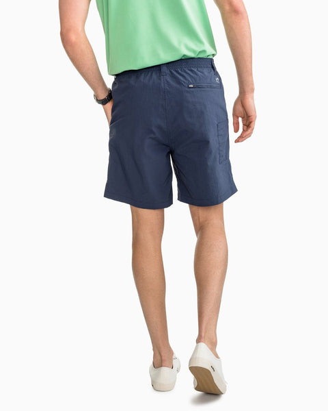 "Southern Tide 7"" Shoreline Quick Dry Short-True Navy"