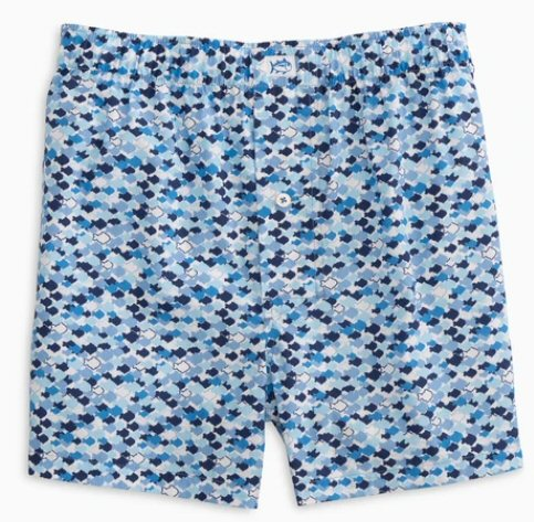 Southern Tide O-Fish-Al print Boxer shorts has a fun print and made for comfort. Shop Bennett's for the brands you want with prices you will love.