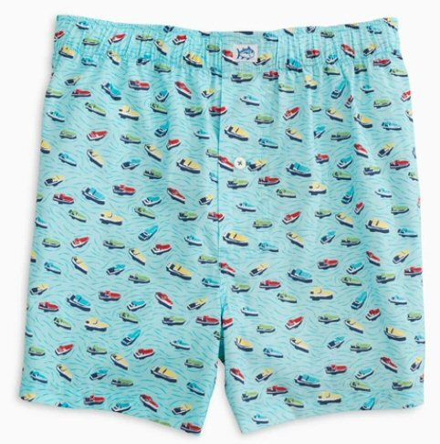 Southern Tide Ready to Dock Boxer shorts will have you ready to make some waves. Shop Bennett's for the brands you want with prices you will love.