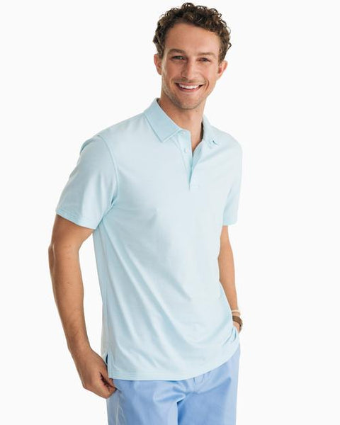 Southern Tide Pecan Grove Polo has spot on styling and made for the active lifestyle. Shop Bennetts Clothing for a large selection of name brand menswear