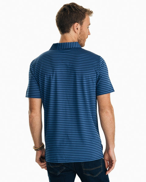 Southern Tide First Mate Performance Polo-True Navy