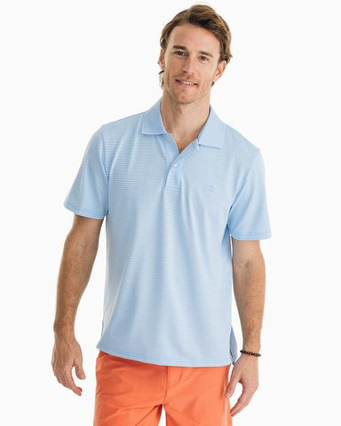 Southern Tide Roster Stripe Performance Polo has spot on styling and made for the active lifestyle. Shop Bennetts Clothing for a large selection of name brand menswear
