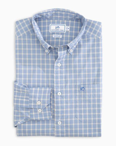 Southern Tide Rig Check Performance button down has spot on styling and made for the active lifestyle. Shop Bennetts Clothing for a large selection of name brand menswear
