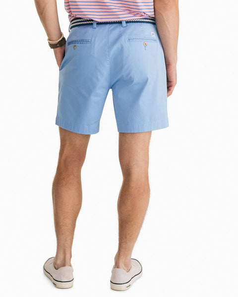 "Southern Tide 7"" Channel Marker Short-Hurricane Blue"
