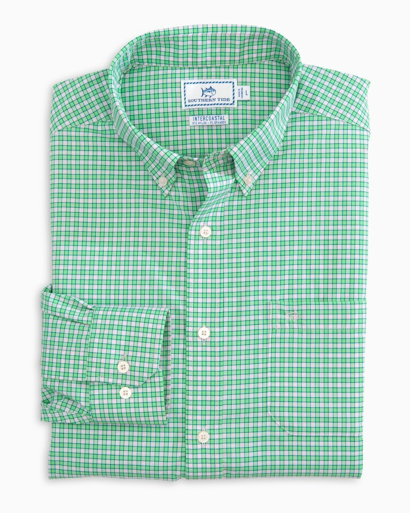 Southern Tide Barnacle Intercoastal shirt will keep you comfortable no matter where the day takes you. Shop Bennett's for the brands you want at prices you will love