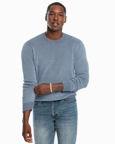Southern Tide Bailer Crew Neck Sweater has spot on styling and made for the active lifestyle. Shop Bennetts Clothing for a large selection of name brand menswear