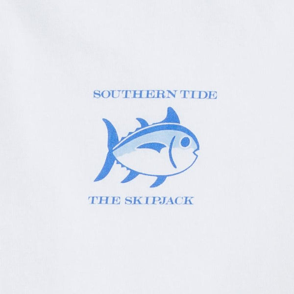 Southern Tide Original Skipjack Short Sleeve T-Shirt-Classic White