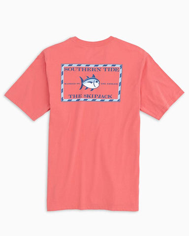 Southern Tide Skipjack T-shirt has classic style that our customers love. Shop Bennetts Clothing for a large selection of name brand menswear shipped same day.