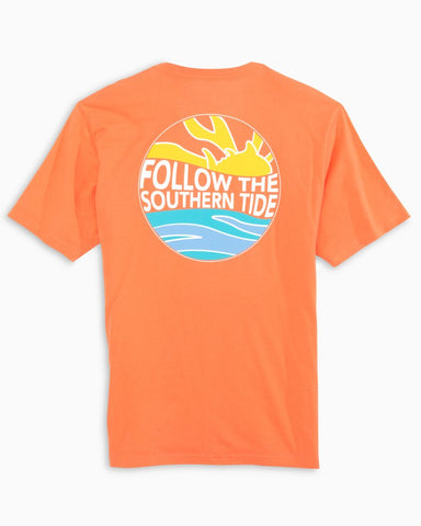 Southern Tide Follow t-shirt has classic style for us that love the water. Shop Bennett's Clothing for a large selection of name brand menswear