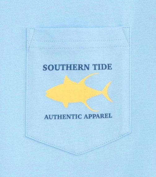 Southern Tide Offshore Fishing T-Shirt-Sky Blue