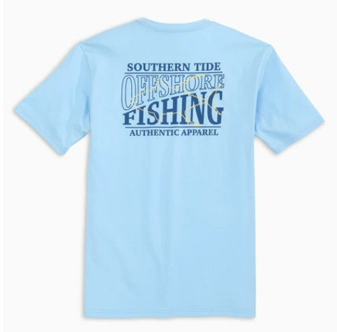 Southern Tide Offshore Fishing T-shirt has classic style that our customers love. Shop Bennetts Clothing for a large selection of name brand menswear