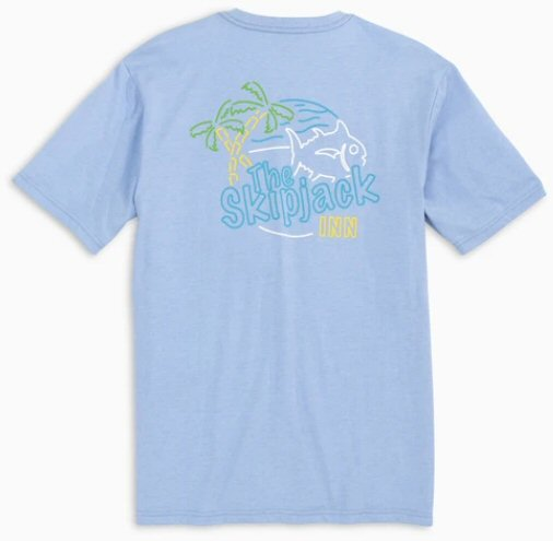 Southern Tide Skipjack Inn t-shirt has classic style that our customers love. Shop Bennetts Clothing for a large selection of name brand menswear