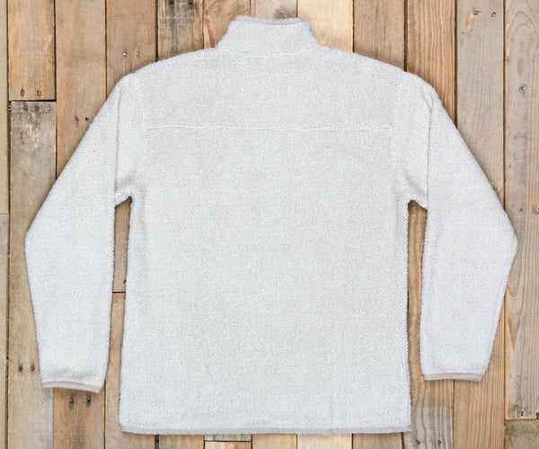 Southern Marsh Highland Alpaca Pullover-White
