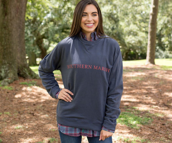 Southern Marsh Seawash Sweatshirt Pullover feels like your fave sweatshirt from years ago! Shop Bennetts Clothing for the most popular brands with same day shipping for over 44 years.