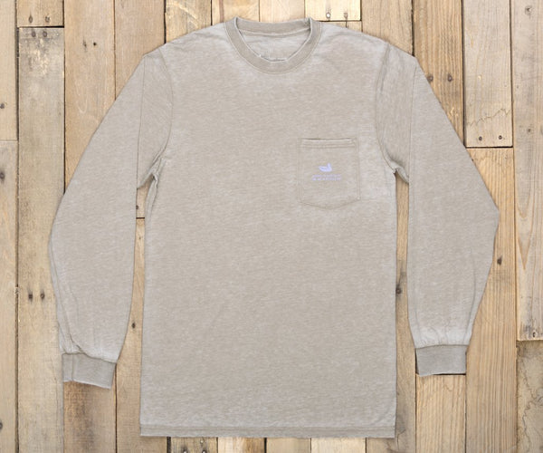 Southern Marsh Seawash Paddle Long Sleeve T-Shirt-Burnt Taupe